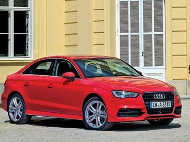 Audi gears up for Auto Expo; A3 sedan to make debut,audi a3,German luxury car
