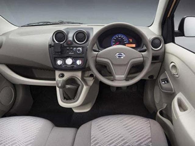New Datsun Go+ compact MPV photo gallery