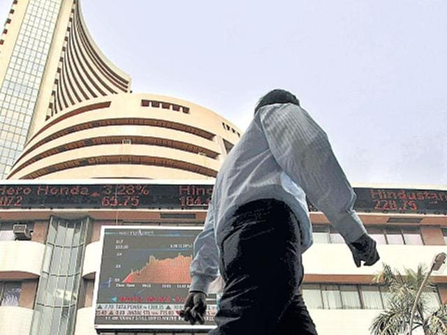 Indian-shares-rose-in-a-special-muhurat-trading-session-for-Diwali-on-Thursday-Hopes-are-high-in-the-new-trading-year-HT-File-Photo