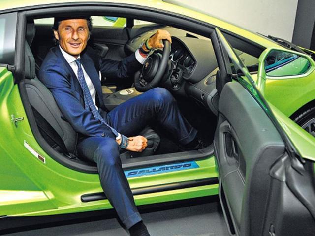 Stephan-Winkelmann-president-and-CEO-of-Lamborghini-at-the-new-showroom-in-Delhi-Sonu-Mehta-HT-Photo