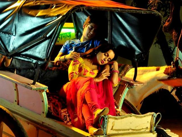 Kangna and Paras in a still from Rajjo.