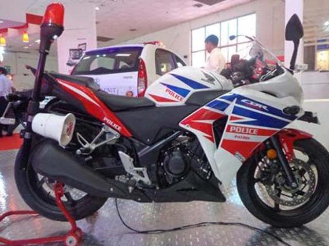 honda police model cbr250r