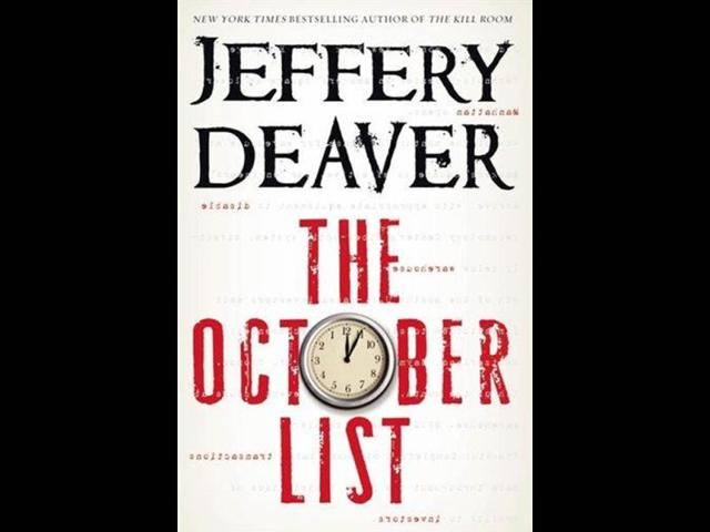 The-October-List-by-Jeffery-Deaver-Photo-AP-Grand-Central-Publishing