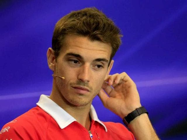 Marussia-F1-Team-s-French-driver-Jules-Bianchi-sits-during-a-press-conference-at-the-Spa-Francorchamps-circuit-in-Spa-ahead-of-the-Belgium-F1-Grand-Prix-AFP-photo