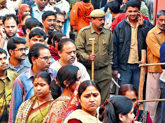 Delhi polls,Ballot papers,photos