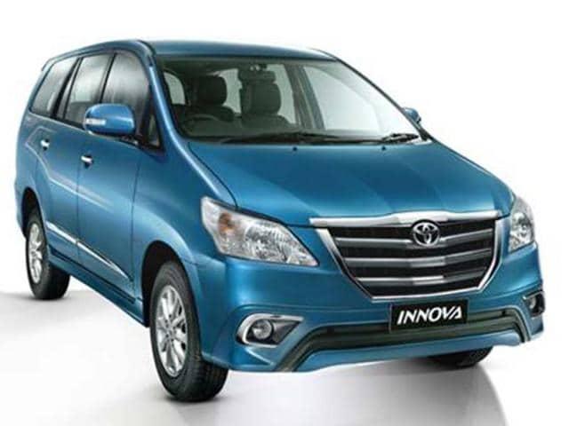 new toyota innova price in india