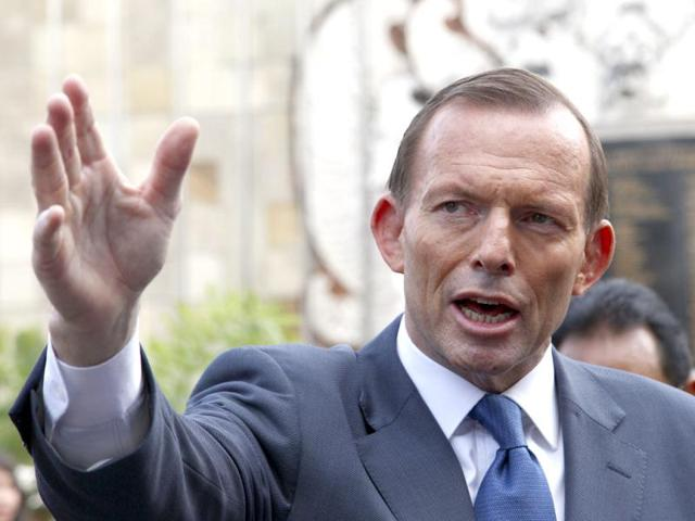 Aus PM Abbott in India, nuke deal likely on agenda