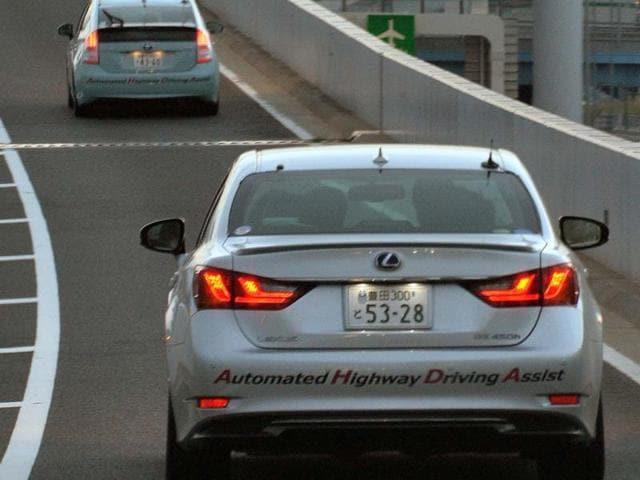 Toyota Unveils Cars With Auto Pilot Autos Hindustan Times