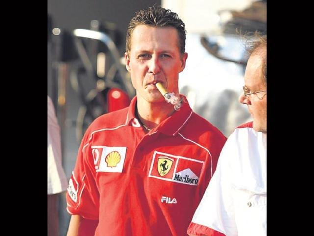Unlike-F1-drivers-Keke-Rosberg-or-Stirling-Moss-seven-time-champion-Michael-Schumacher-wasn-t-a-regular-smoker-He-did-however-partake-of-the-odd-victory-cigar