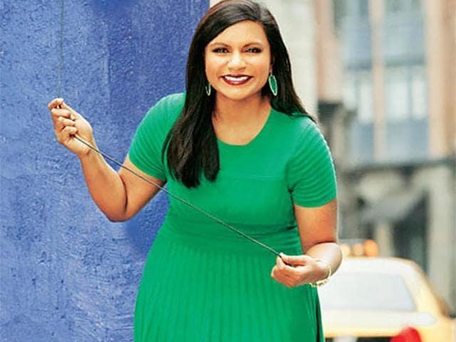 Mindy Kaling,having fun,television writer