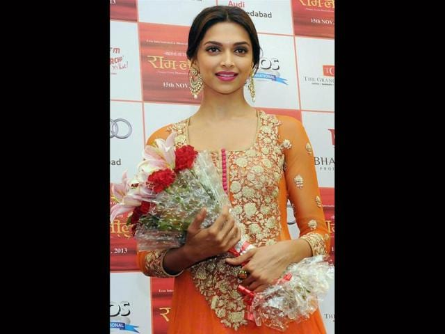 Bollywood-actress-Deepika-Padukone-during-the-promotion-of-her-upcoming-film-in-Ahmedabad-on-Wednesday-late-night-PTI-Photo