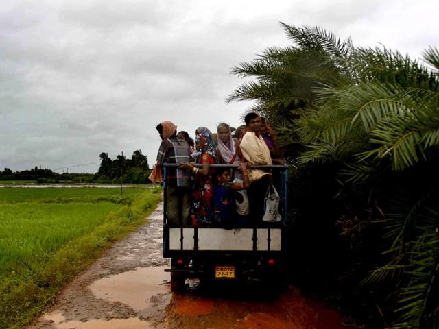 Ganjam,Cyclone Hudhud,Ganjam