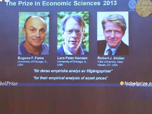 nobel prize for economics,Eugene Fama,Lars Peter Hansen