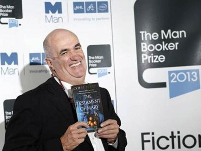 Man-Booker-Prize-2013-shortlist-nominee-Colm-Toibin-poses-with-his-book-The-Testament-of-Mary-during-a-photocall-at-the-Southbank-Centre-in-London-Credit-Reuters-Olivia-Harris