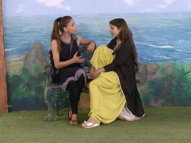 Shilpa and Tanisha trying to make amends?