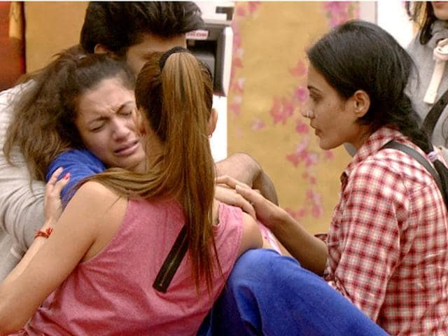 Gauahar breaks down after over-working herself. Oh, drama, drama.