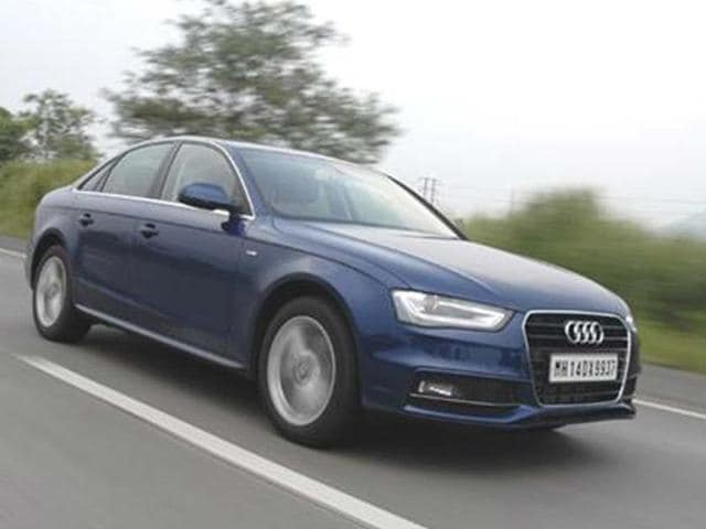 new 2013 audi a4 2.0 tdi 174bhp review test drive | autos