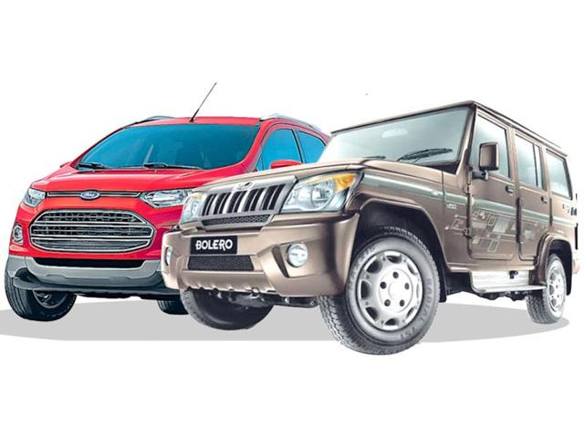 Bolero-in-front-EcoSport-leads-the-charge-in-SUV-war