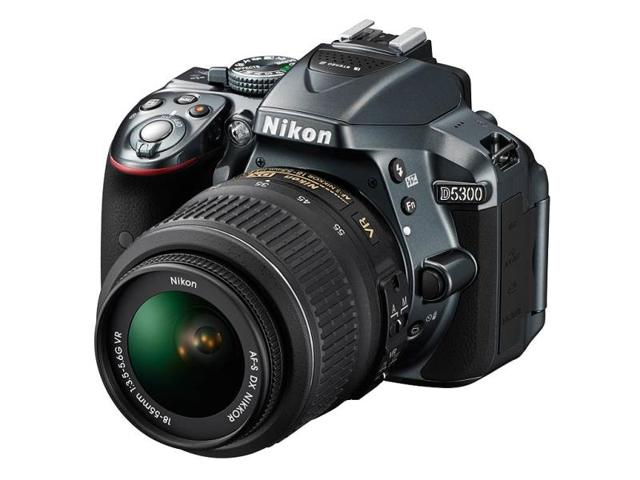 The-Nikon-D5300-will-be-available-from-this-month-for-1-400-with-an-18-140mm-f-3-5-5-6-lens-Photo-AFP