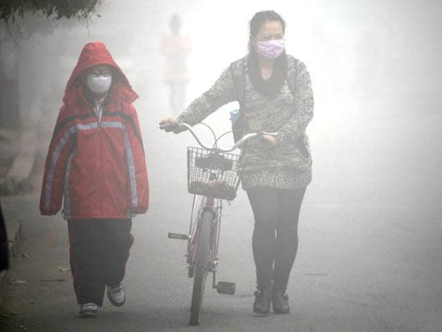 China,smog,World Health Organisation