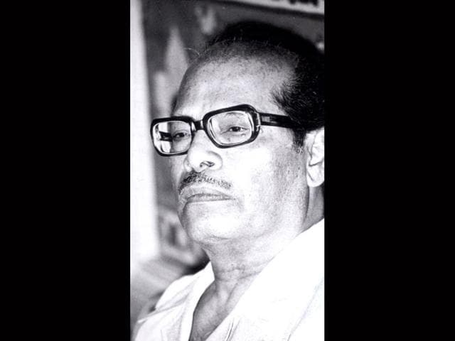 Interestingly, Manna Dey has sung in 14 Indian languages, including Punjabi, Malayalam, Gujarati, Bhojpuri and Chhattisgarhi, apart from Hindi and his mother tongue Bengali. (HT Photo)