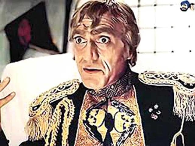 Mogambo (Mr India) remains Amrish Puri