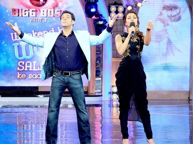 Priyanka Chopra, the singer impresses Salman Khan.