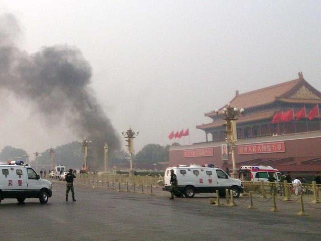 Tiananmen Square,Xinjiang,Tiananmen car crash