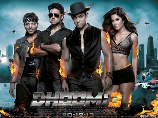 Dhoom:3 is all set to release on December 20. The film stars Aamir Khan, Katrina Kaif, Abhishek Bachchan and Uday Chopra.