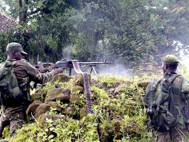 Ugandan rebels,Congo massacre,14 killed in Congo