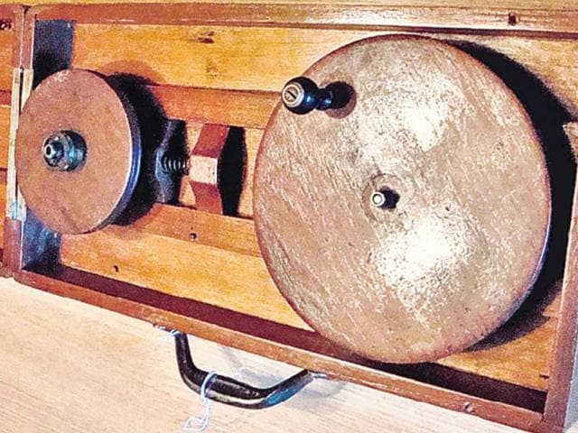 Gandhi-s-charkha-will-be-auctioned-off-along-with-a-draft-of-his-will-letters-and-other-items-HT-photo