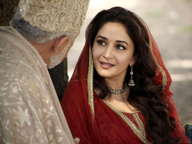 gul;aab gangm madhuri dixit,dedh ishqiya. entertainment,hindustan times