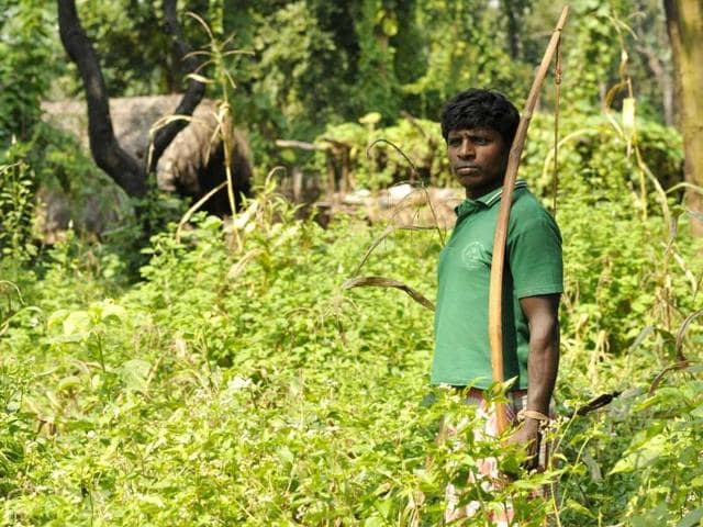 An-internally-displaced-person-in-Chhattisgarh-s-Maoist-hit-area-HT-Photo