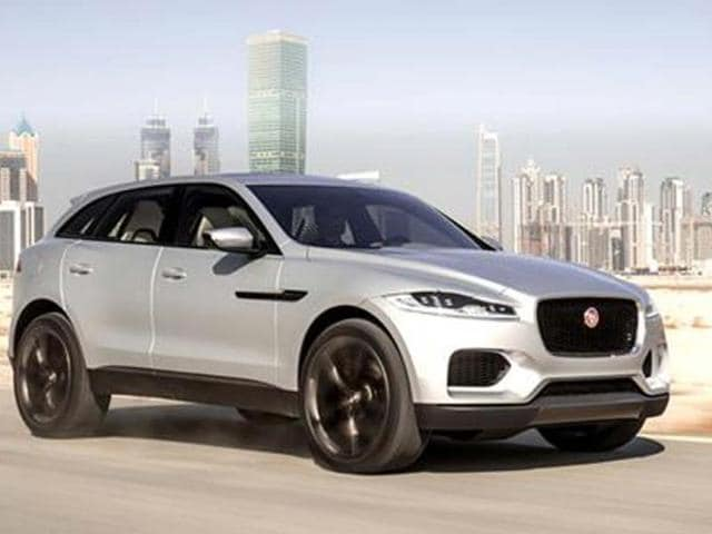 jaguar c-x17 suv launch