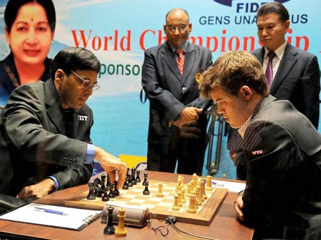 Defending-champion-Viswanathan-Anand-L-makes-a-move-against-Norway-s-Magnus-Carlsen-during-the-World-Chess-Championship-in-Chennai-AP-Photo