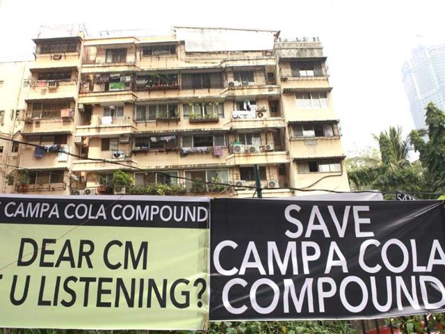 Campa Cola Compound case,Brihanmumbai Municipal Corporation,Campa Cola Compound demolition