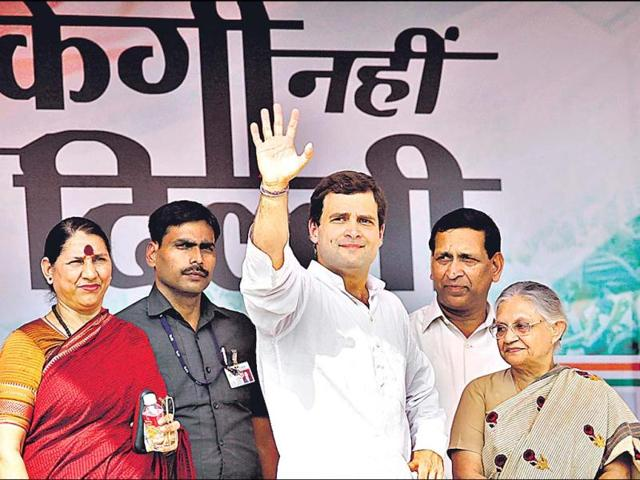 Rahul-Gandhi-centre-had-asked-all-ticket-hopefuls-to-fill-up-a-five-page-form-which-tested-their-knowledge-of-their-constituency-and-asked-for-an-assessment-of-the-Congress-performance-on-that-seat-Raj-K-Raj-HT-file-photo