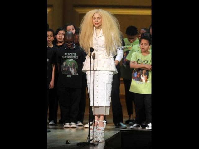 Lady Gaga,Monster mother,Jingle Bell Ball