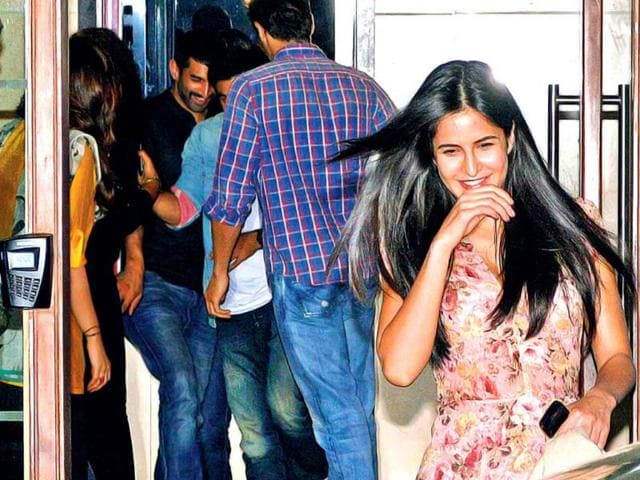 Rumoured couple Katrina Kaif and Ranbir Kapoor will not talk of their romance in public but repeated public appearances seem to tell another story. The duo was spotted at the recent Karan Johar bash. Dating or not, Kat