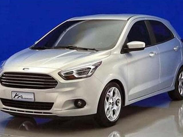 new ford figo,new hatchback,ford ka concept