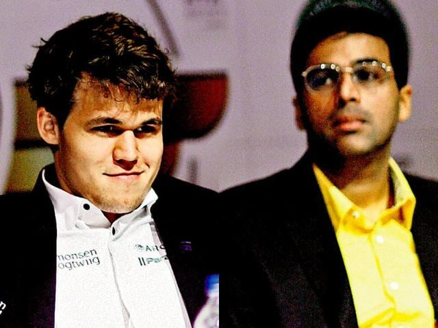 Anand to start with white pieces against Carlsen in World Chess Championship