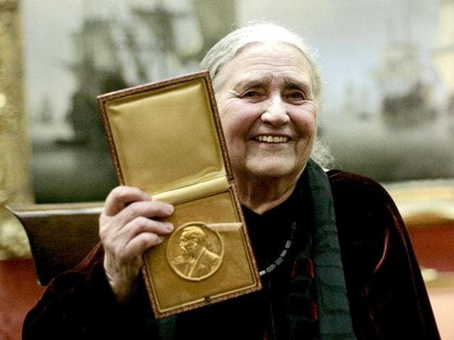 Doris Lessing,Nobel Prize,Nobel Prize in Literature