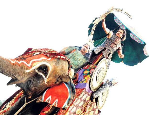 Sudesh-Berry-in-a-still-from-TV-show-Mahabharat