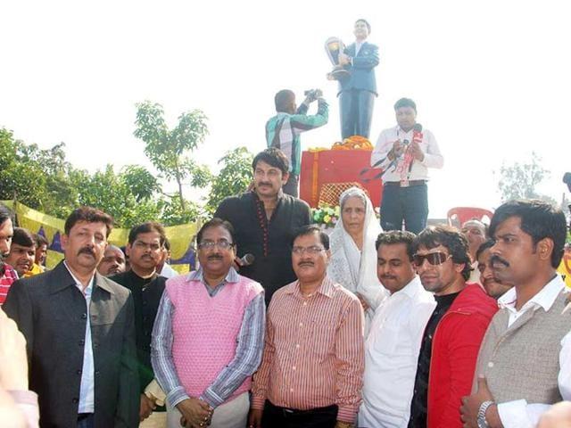 A temple for god of cricket Sachin Tendulkar in Bihar