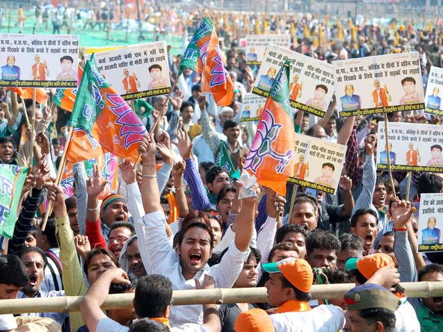 BJP edges out Congress in Delhi and Maharashtra