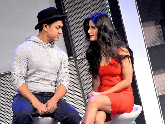Katrina seems to be taking cues from Aamir Khan about handling the media.
