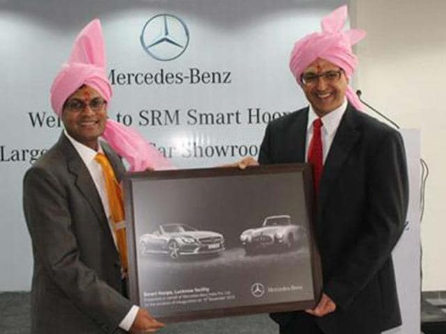 Mercedes-Benz-inaugurates-new-showroom-in-Lucknow