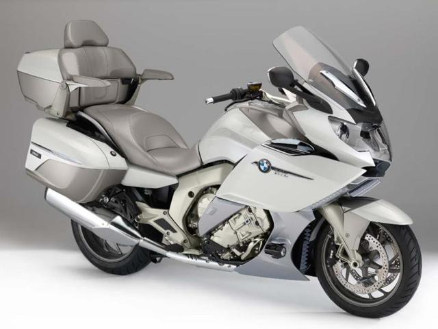 The BMW K 1600 GTL Exclusive grand touring motorcycle