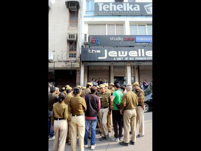 Tehelka Sexual Assault Case