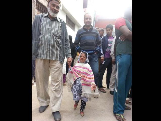 A-photo-of-three-foot-tall-Zeenat-Bi-Aged-above-100-years-has-staked-a-claim-as-the-world-s-oldest-dwarf-HT-Photo